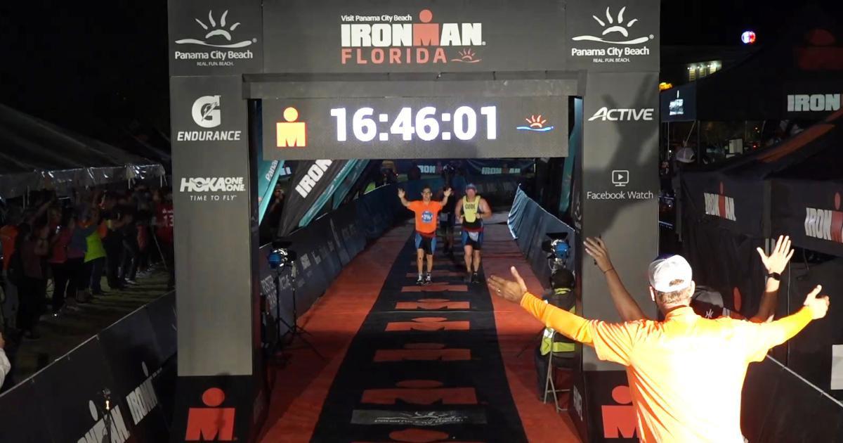 Chris Nikic : il devient le premier triathlète trisomique à terminer un...