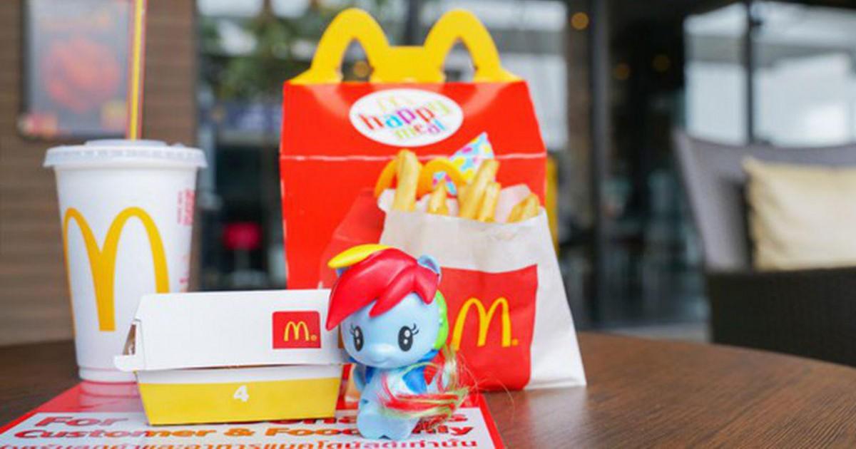 McDonald's : le géant du Fast-Food dit stop aux jouets en plastique