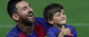 Thiago Messi, le futur successeur de son père Lionel...