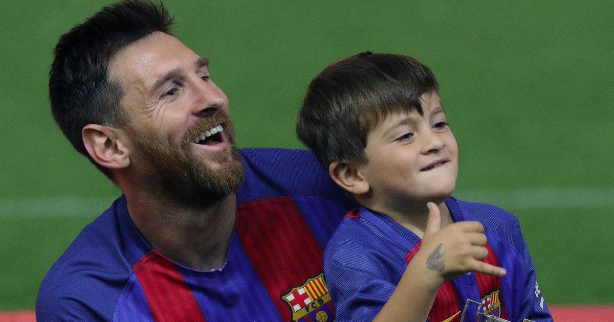 Thiago Messi, le futur successeur de son père Lionel Messi ?
